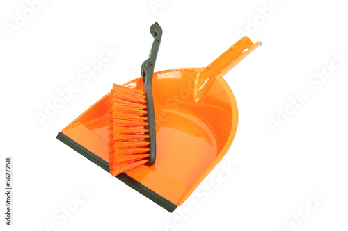 Brush and dustpan