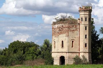 old tower eastern Europe Serbia