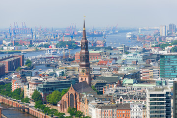 Port in Hamburg