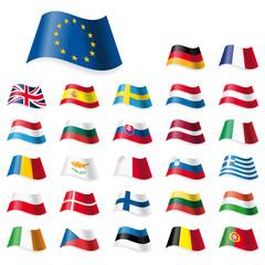 EU Flags Set