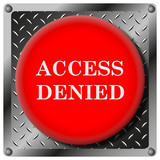 Access denied metallic icon