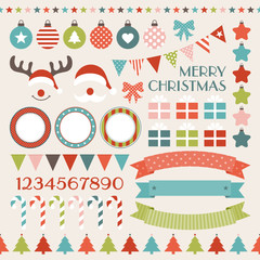 Christmas Set Retro