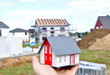 Hausbau Baustelle