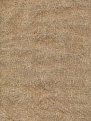 Grunge burlap sack abstract background texture
