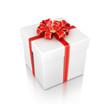 gift box isolated on white background 3d illustration