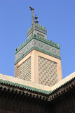 Mosque in old Medina of Fes, Morocco