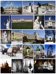 Vienna,Austria,collage