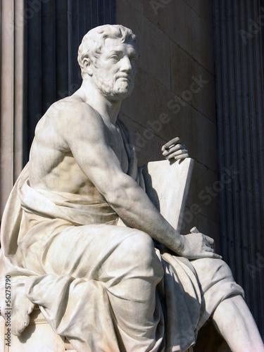 Vienna,statue