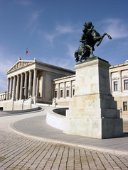 Vienna,parliament building