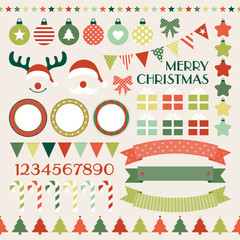Christmas Set Red/Green