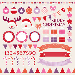 Christmas Set Red/Pink