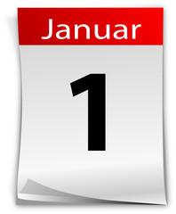 Kalendar Januar Tag Datum Agenda Kalender Monat