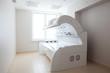 white solarium in white room