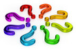 Multicolored Question Points