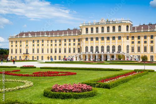 Schloss Schönbrunn in Vienna, Austria