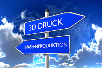 3D Druck vs Massenproduktion