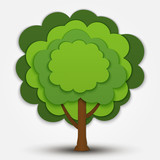 Nature vector tree