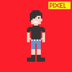 young pixel guy