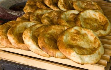 Flat bread.