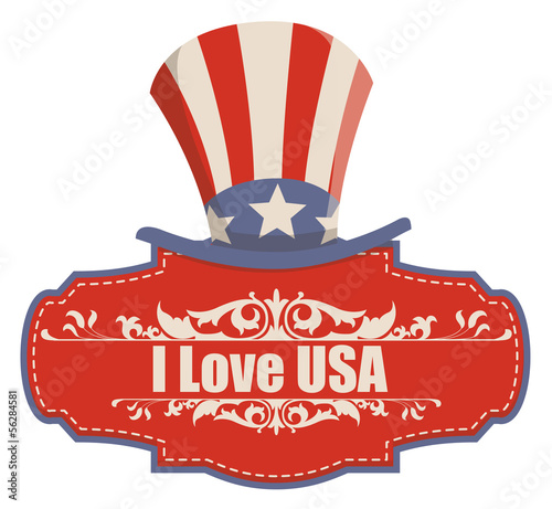 retro - Constitution Day Vector Illustration