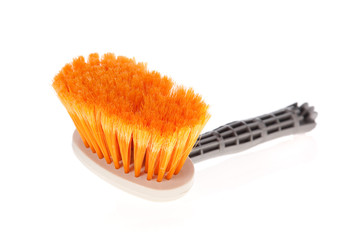 Paintbrush or small broom used for whitewashing walls