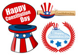 Designs pack - Constitution Day Vector Illustration