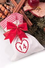 advent calendar christmas gift bag number fourteen