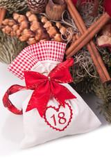 advent calendar christmas gift bag number eightteen