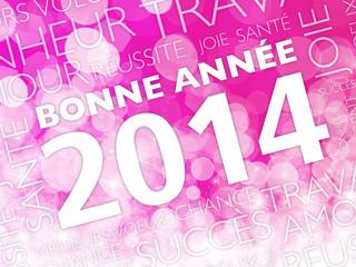 carte bonne année 2014