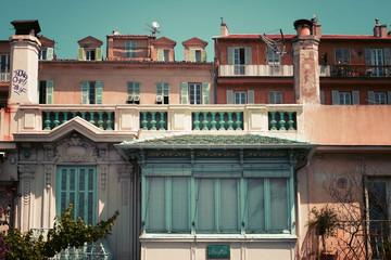 Maisons typiques de Nice