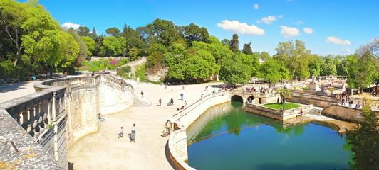 Le mont Cavalier à Nîmes
