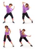 Tanz Zumba Collage