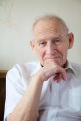 cheerful old man