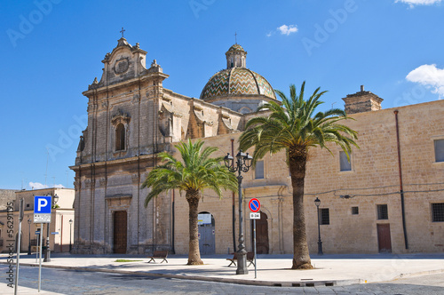Church of St. Maria di Costantinopoli. Manduria. Puglia. Italy.