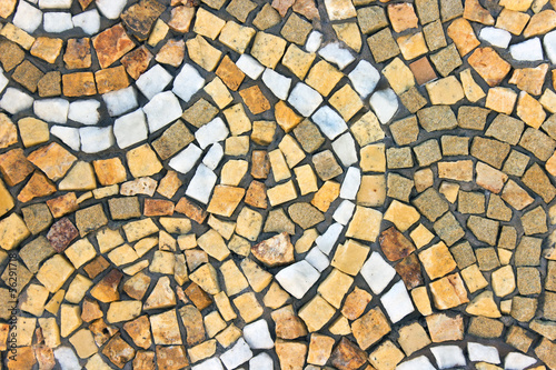 Marble stone mosaic texture as background