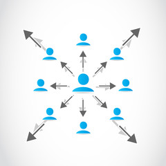 Business networked crowd