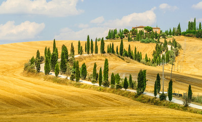 Old farm in Val d'Orcia (Tuscany)