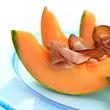 Melone mit Räucherschinken
