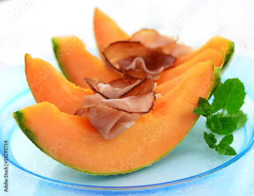 Vorspeise,Melone