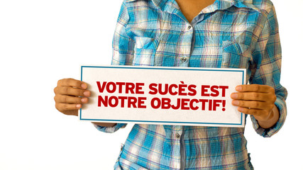 Your Success is our Goal (In French)