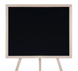 Empty blackboard (chalkboard) isolated on white