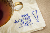 pay yourself first - advice