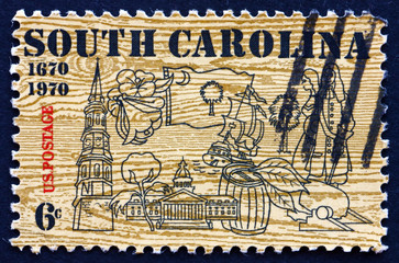 Postage stamp USA 1979 Symbols of South Carolina