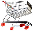 Supermarket Pushcart Cutout
