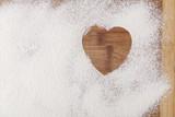 Heart in Flour