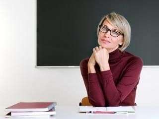 Lehrerin im Klassenzimmer