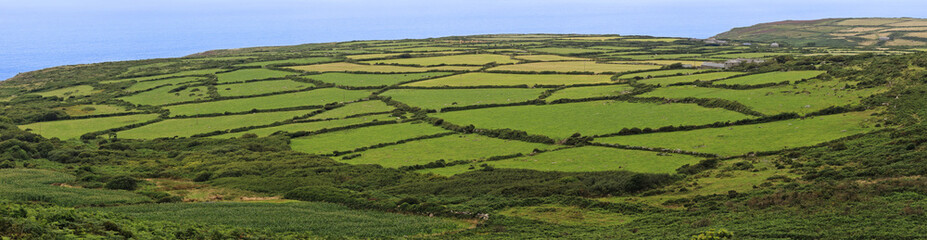 A view of cornwall countryside near Zennor, United Kingdom