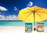 Fototapety Entspannung: Auszeit in der Karibik
