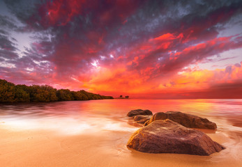 Stunning Tropical Sunset