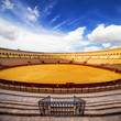 Bullfight arena (Real Maestranza), Sevilla, Spain.
